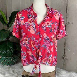 Hippie Rose Junior Hawaiian Top XL